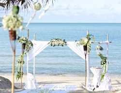 Creative events asia top venues for destination weddings in koh an island off the east cost of southern thailand koh samui is known for its natural splendour turquoise seas white sandy beaches mountainous forests junglespirit Gallery
